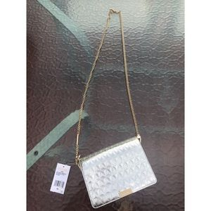Gold/silver new Michael Kors purse with tags